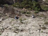 Los jóvenes mazarroneros se inician en la escalada