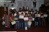 Homenaje a los portapasos infantiles de la Cofrad�a de San Juan Evangelista
