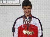 El atleta torreño Sergio Jornet, s�xtuple campe�n regional infantil