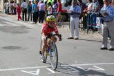Jose Ángel Camacho, del Club Ciclista Santa Eulalia, 4º en la primera prueba de las Escuelas de Ciclismo