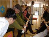 Los usuarios del SEDA disfrutan de las nuevas actividades de fisioterapia y rehabilitación