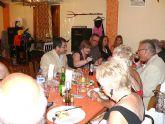 El Alcalde acude a una cena benéfica con residentes británicos