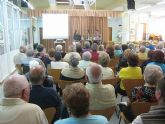 Conferencia sobre ayudas a mayores en Puerto de Mazarrón