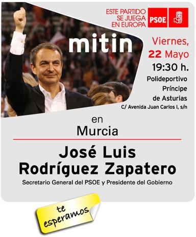The PSOE de Totana free chartered buses to go to rally Zapatero - 2