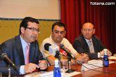 Empresarios de la comarca del Guadalent�n participan en Totana en el foro de promoci�n de negocios