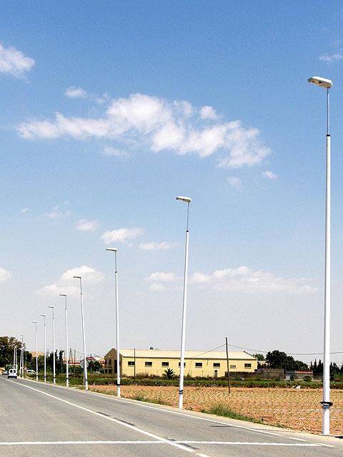 Obras Públicas instalará 44 farolas 'antichoque' en el municipio de Lorca, Foto 1