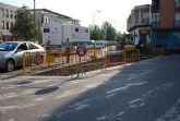 Comienzan las obras de reordenación del tráfico en la calle Cruz de los Hortelanos