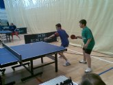 Tenis de mesa. Campeonato regional.