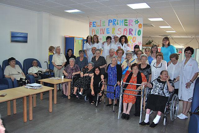 El Centro de Estancias Diurnas celebra su primer cumpleaños, Foto 1