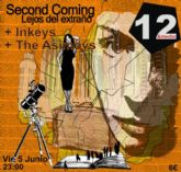 Inkeys, Second Coming y The Asimovs en directo