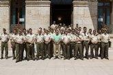El Acuartelamiento General López Pinto visita Mazarrón