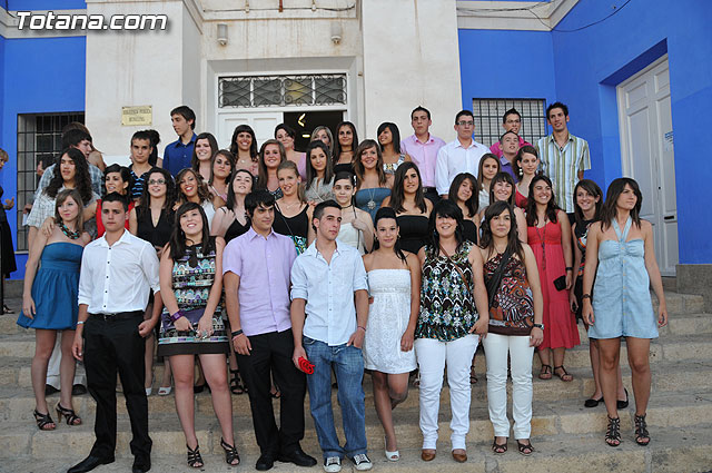 Graduation of students in 4 º of ESO Instituto Juan de la Cierva - 1