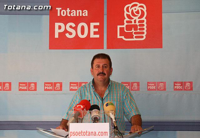 "Andrés García: ""si la presa de Lébor no se construye es responsabilidad del PP"", Foto 1"