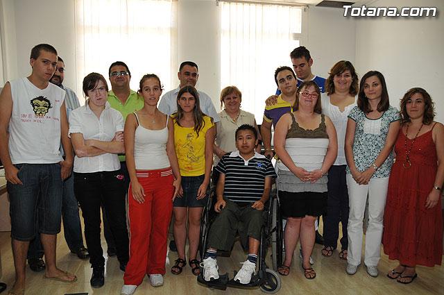 """Clausurado el Programa de Iniciación Profesional Especial (PIPE) """"Auxiliares de oficina"""", organizado por MIFITO, Foto 1"""