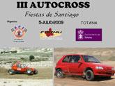 El III Autocross Fiestas de Santiago tendrá lugar el próximo domingo 5 de julio