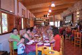 La Edad de Oro celebra su comida de fin de curso en un restaurante de Sierra Espuña