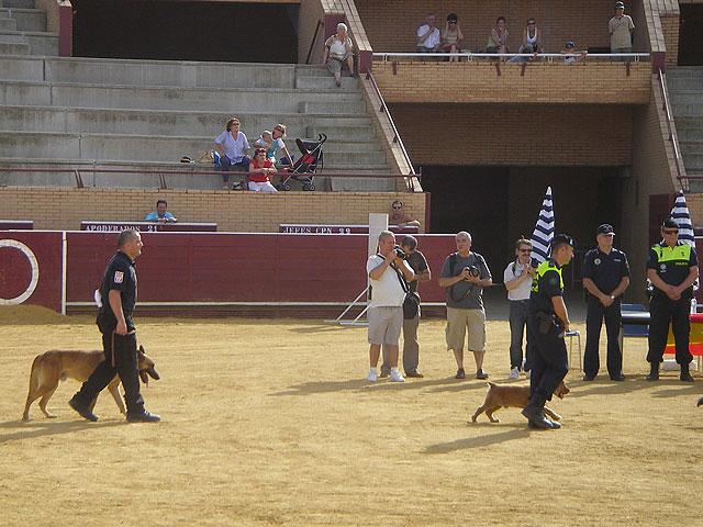 La Unidad Canina de la Policía Local de Totana obtiene el tercer premio en la categoría de búsqueda de estupefacientes, Foto 1