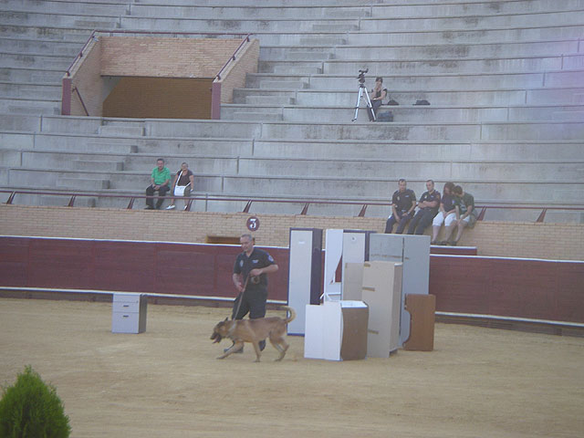 La Unidad Canina de la Policía Local de Totana obtiene el tercer premio en la categoría de búsqueda de estupefacientes, Foto 2