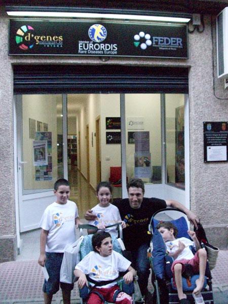 Los hermanos Salinas muestran su apoyo a D´Genes y las Enfermedades Raras, Foto 3