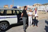 La Polic�a Local de Alhama de Murcia estrena un nuevo veh�culo para patrullar las �reas rurales