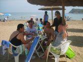 Los alumnos del Centro Ocupacional, a la playa de vacaciones