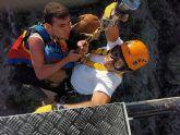 Espectacular rescate de dos excursionistas en Sierra Espuña