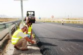 Obras P�blicas invierte 2,3 millones de euros en el refuerzo del firme de la calzada antigua de la autov�a RM-23