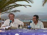 La Cadena Cope realizó su programa del sábado noche en la Plaza de las Comunidades Autónomas del Puerto de Mazarrón