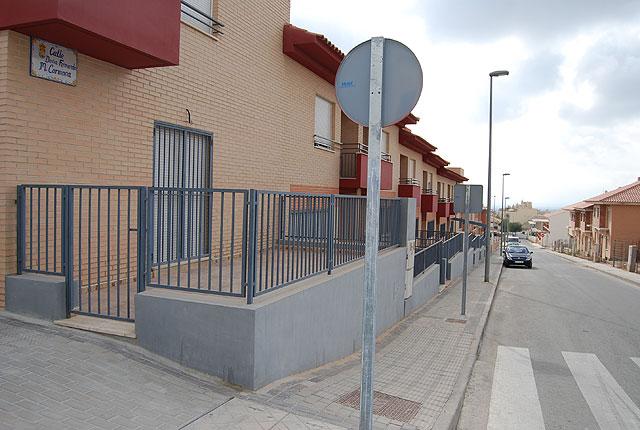 Llevarán  a cabo las obras de sustitución de las aceras y servicios generales en las calles Ciudad de Mérida, Federico Servet y Fernanda María Carmona, Foto 1