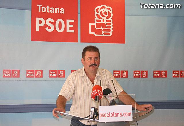 PSOE: El PP totanero se niega a exigirle a Valcárcel dinero para la financiación de los ayuntamientos, Foto 1