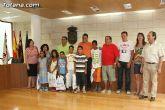 Autoridades municipales reciben a los 6 niños saharauis y a las familias totaneras que los acogen durante los meses de julio y agosto