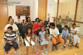 Autoridades municipales reciben a los 6 niños saharauis y a las familias totaneras que los acogen durante los meses de julio y agosto - 1
