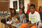 Autoridades municipales reciben a los 6 niños saharauis y a las familias totaneras que los acogen durante los meses de julio y agosto - 4