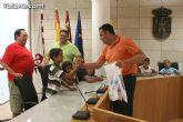 Autoridades municipales reciben a los 6 niños saharauis y a las familias totaneras que los acogen durante los meses de julio y agosto - 13