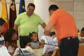 Autoridades municipales reciben a los 6 niños saharauis y a las familias totaneras que los acogen durante los meses de julio y agosto - 17