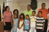 Autoridades municipales reciben a los 6 niños saharauis y a las familias totaneras que los acogen durante los meses de julio y agosto - 23