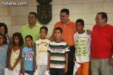 Autoridades municipales reciben a los 6 niños saharauis y a las familias totaneras que los acogen durante los meses de julio y agosto - 24