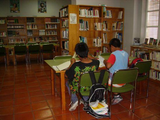 La sala de estudio de la Biblioteca Municipal amplía su horario para los exámenes de septiembre, Foto 1