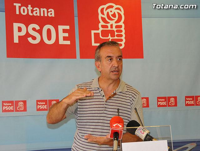 Los socialistas recurrirán la decisión de PP de vender el canon del agua de Totana hasta 2032, Foto 1