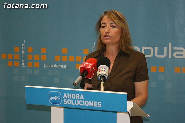 El PP de Totana denuncia que el PSOE local está promoviendo la quiebra económica del municipio, Foto 1