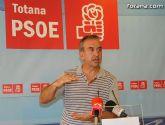 Los socialistas recurrirán la decisión de PP de vender el canon del agua de Totana hasta 2032