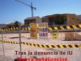 IU considera positivo que, ante su denuncia sobre la seguridad en las obras de Avda. Juan Carlos I, se hayan adoptados medidas