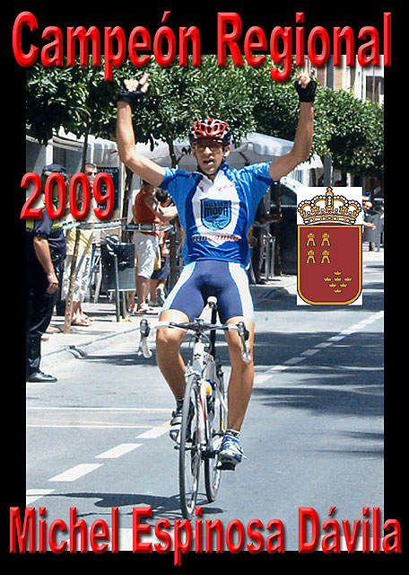 Michel Espinosa, campeón regional de ciclismo, Foto 1