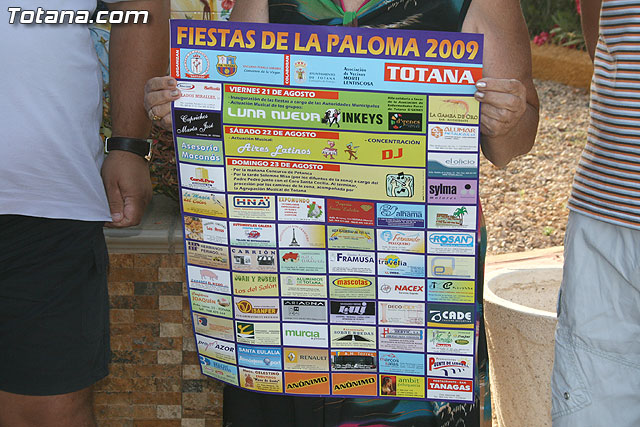 The festival of La Paloma, which will open on Friday August 21 will be held until Sunday 23 August - 2