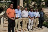 El alcalde de Totana y la edil de Educación visitan las obras del futuro Campus Universitario de Lorca