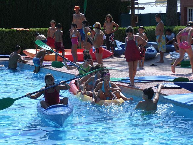 La concejalía de Deportes clausura las actividades infantiles de la segunda quincena de agosto del programa Verano Polideportivo, Foto 3
