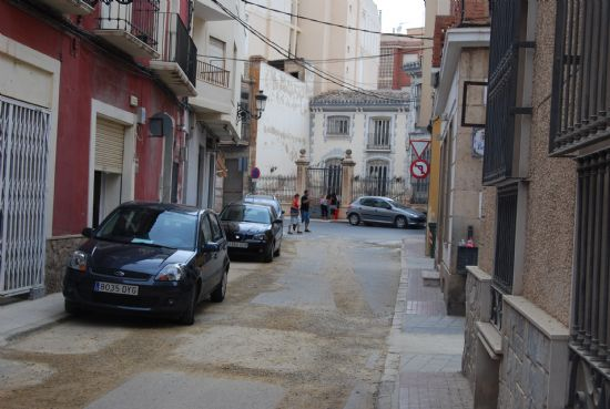 Concluirán en unos días las obras de sustitución de aceras y servicios generales en la calle Antonio Garrigues, Foto 1