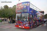 El autobús del triplete se pasea por la Región de Murcia - 1