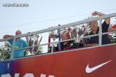 El autobús del triplete se pasea por la Región de Murcia - 4