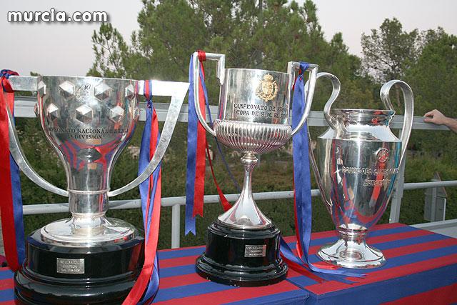 La Liga, la Copa y la ´Champions´ se exhiben por la Región de Murcia, Foto 1